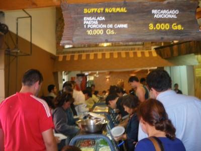 paraguay all you can eat buffet asuncion