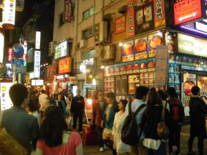 Jonny Blair a lifestyle of travel doing sushi in Tokyo Japan