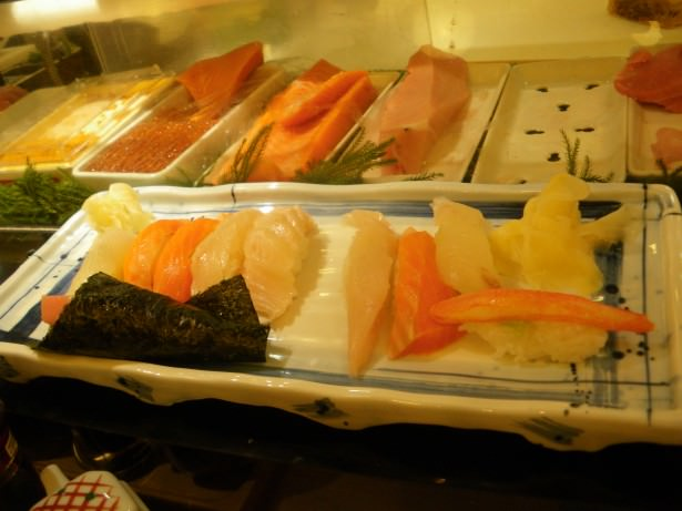Jonny Blair tries sushi in Japan - Tokyo the travelling Northern Irishman