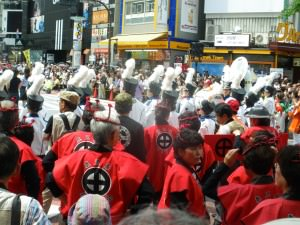 Jonny Blair loving Shibuya in Tokyo Japan May 2012