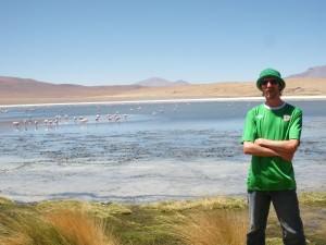 Jonny Blair the travelling Northern Irishman in Bolivian wilderness