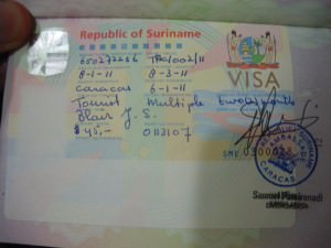 Dont stop living a lifestyle of travel Suriname Visa