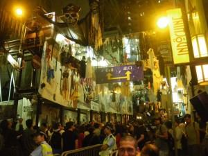 Halloween Night in Lan Kwai Fong Hong Kong
