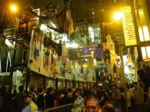 Halloween Night in Lan Kwai Fong Hong Kong