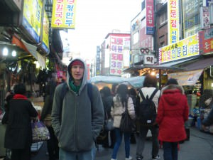 bargaining at namdaemun market seoul