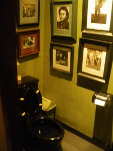 toilets in Cafe Batavia Jakarta