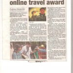 Jonny Blair of Dont Stop Living featured in the County Down Spectator in Bangor in January 2013