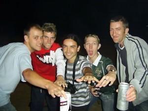 a lifestyle of travel - Jonny Blair and his international friends