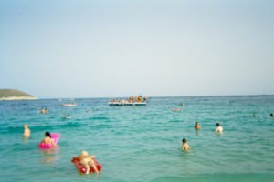 The Mediterranean Sea in Europe - cleaner than Asian waters
