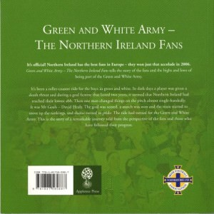Jonny Blair travelling Northern Ireland fan book interview
