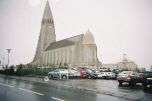 Main church in Reykjavik, Iceland