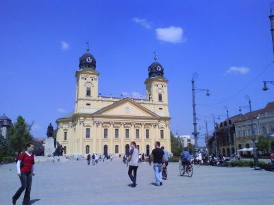 The Nagytemplom in Debrecen Hungary