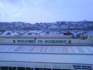 Jonny Blair arrives in Guernsey with a spear gun!