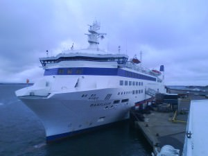 Barfleur docked in Poole