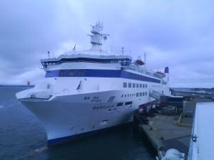 Barfleur docked in Poole