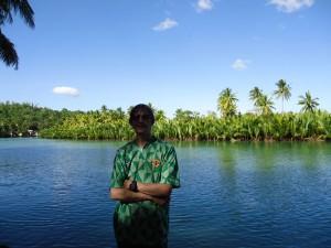 Jonny Blair by Loboc River, Philippines