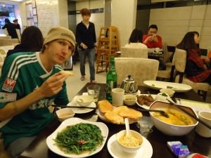 Jonny Blair in Guangzhou Food Street