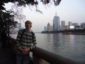 Jonny Blair in Guangzhou