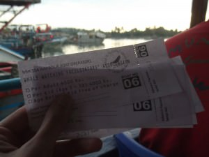 tickets for whale watching in Mirissa