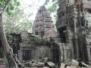 Ta Prohm in Angkor temples
