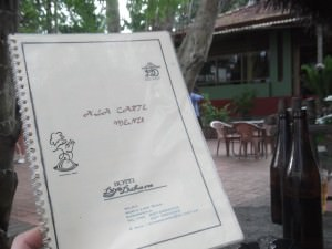 hotel menu in kurunegala sri lanka