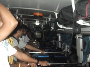 Kurunegala to Dambula bus