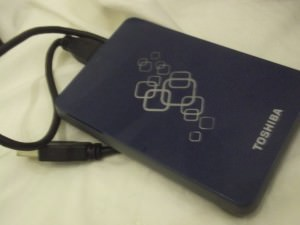 Toshiba hard drive is the current one I use but I always change