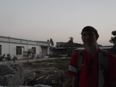 Jonny Blair visits a factory in China