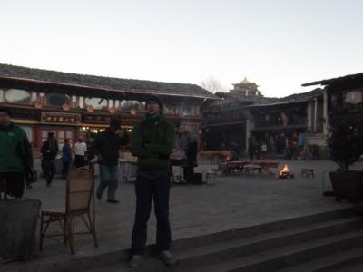Jonny Blair in Shangri La, Yunnan, China