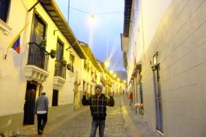 Jonny Blair in La Ronda Quito