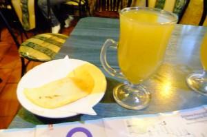 Jonny Blair drinking canelazo in Quito travel lifestyle