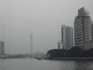 Skyline view in Guangzhou China