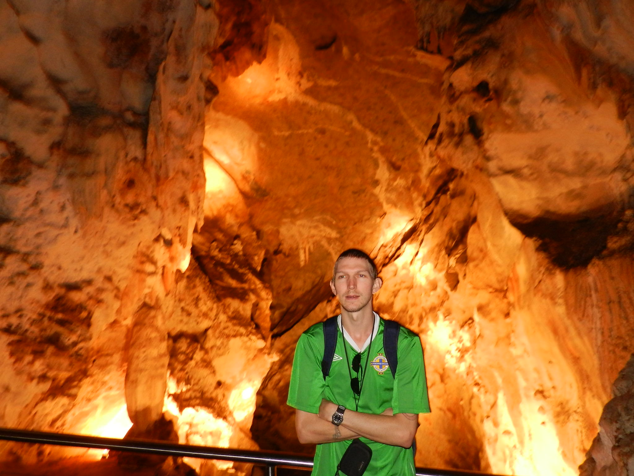 Jonny Blair at Jenolan Caves