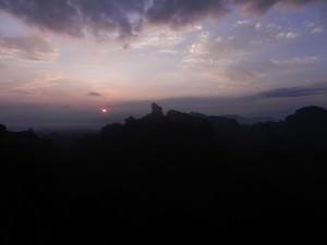Sunrise at Danxiashan China