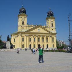 Backpacking in Hungary: Debrecen's Nagytemplom