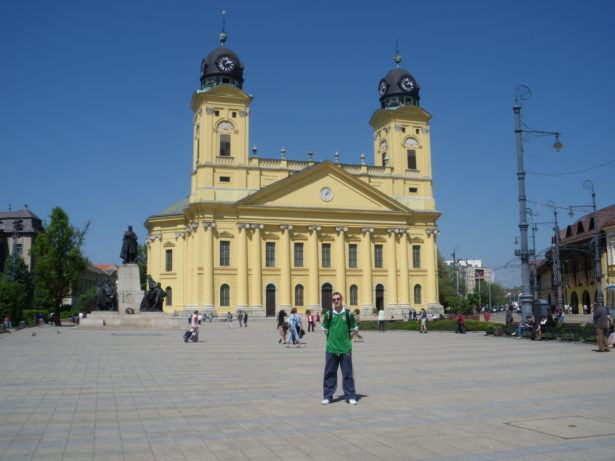 Backpacking in Hungary: Debrecen's Nagytemplom