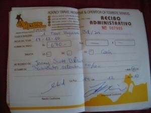 Salar de Uyuni tour ticket