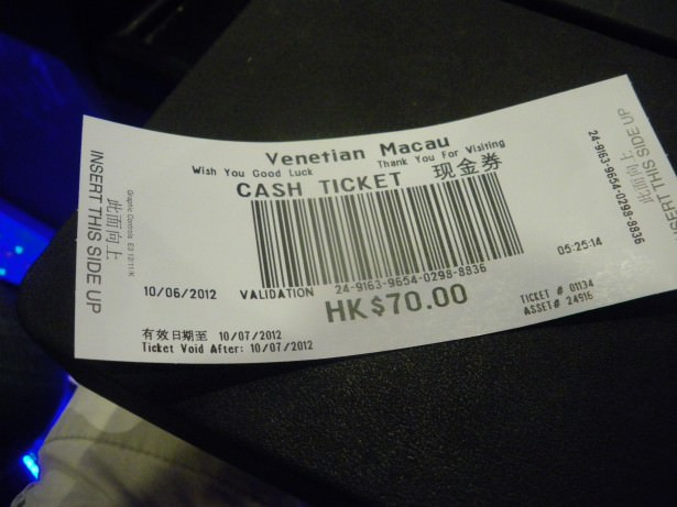 Jonny Blair of Dont Stop Living wins money in a Macao Casino!