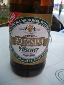 Potosina beer Bolivia