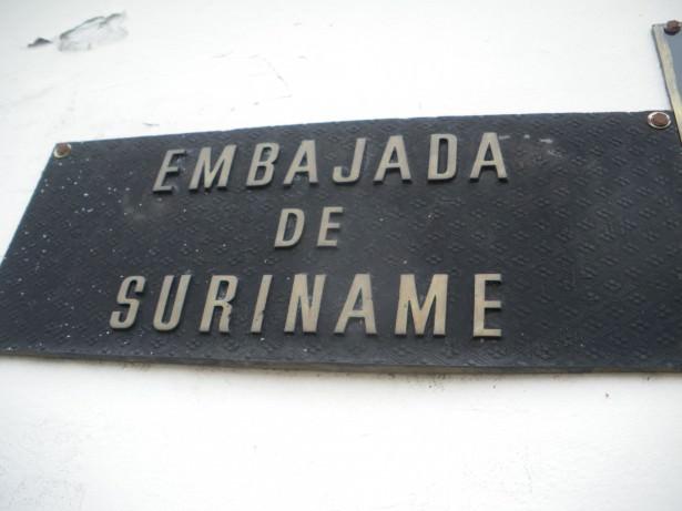 Suriname Embassy in Caracas