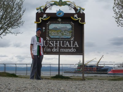Andrew Mozart does Ushuaia in The Liar's Guide to South America