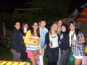 Oli Frame's party in Bournemouth in 2009 with the Best Break team