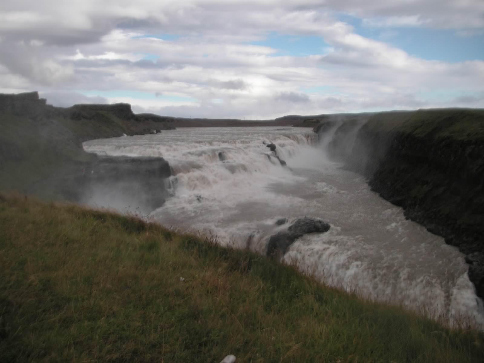 Gullfoss in Iceland in 2007