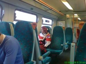 Scotland to england by train