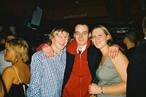 Jonny Blair partying in Bournemouth Dorset
