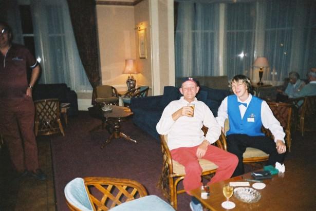Heathlands Hotel Bar in Bournemouth Dorset 2004