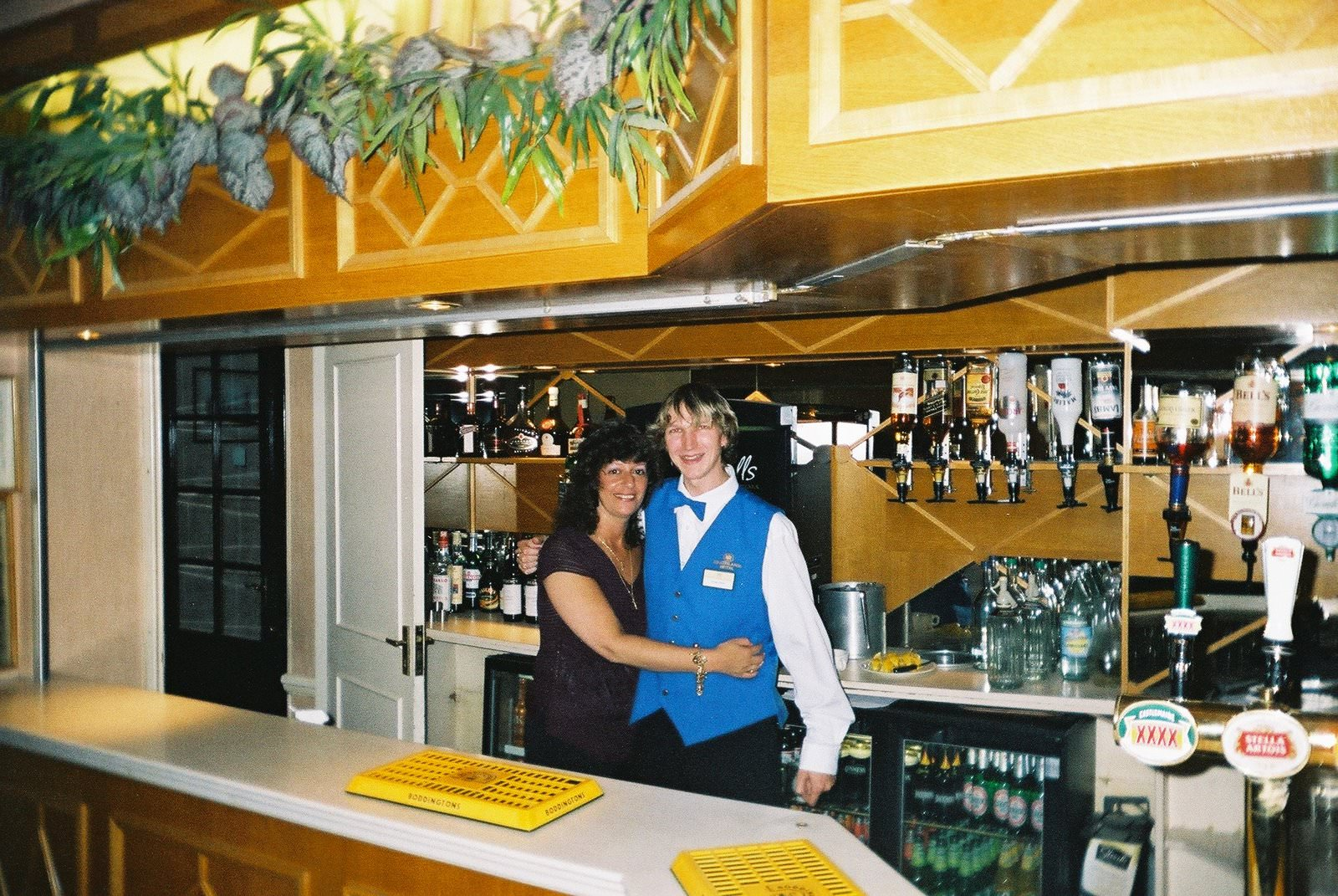 Jonny Blair at Heathlands Hotel Bournemouth England