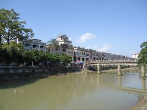 The river at Chikan Old Town