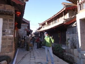 backpacking in shuhe yunnan china