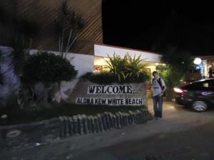 Jonny Blair at Alona Beach